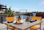 Silos Restaurant at Pier B Resort - Scallops and Chops