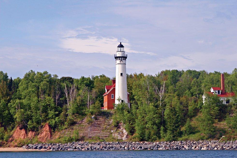 apostle islands lighthouse celebration  to devils island