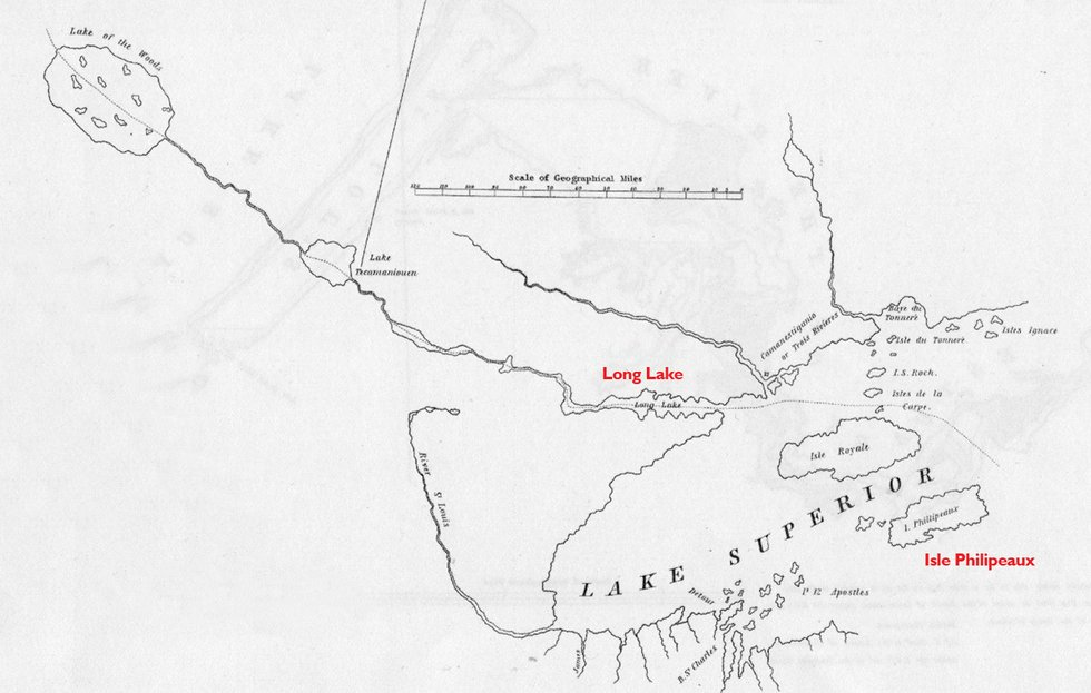 Drawing a Line in the Water Lake Superior Magazine