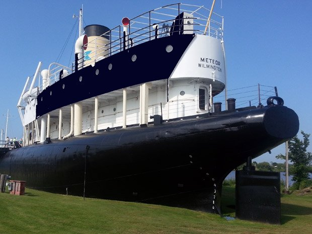 Superior Public Museums – Meteor Historic Whaleback Ship
