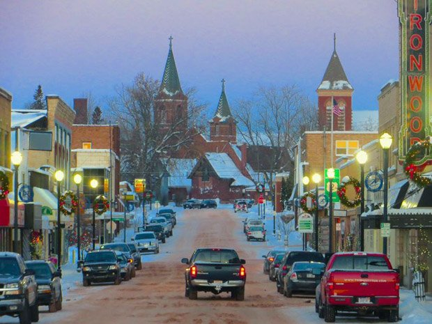 Ironwood Chamber – Downtown in Winter