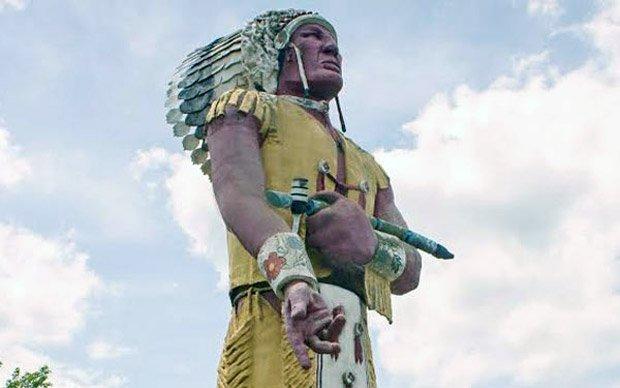 Ironwood Chamber – Hiawatha Statue