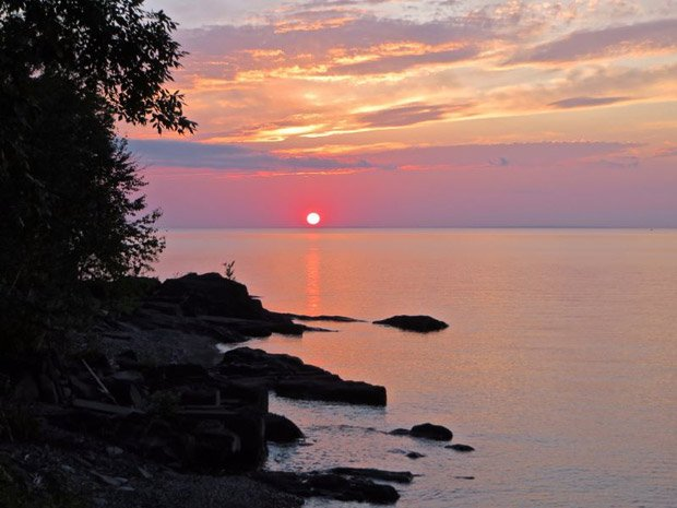 Ironwood Chamber – Lake Superior Sunset