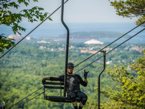 Travel Marquette Michigan – Ski Lift Biking