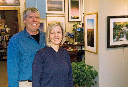John Gregor & Val Doherty of Waterfront Gallery
