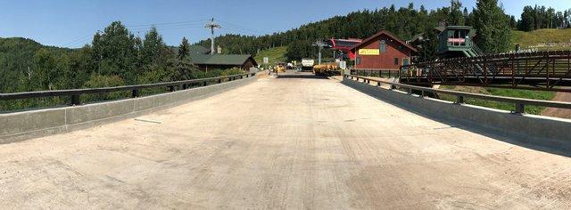 New Lutsen Mountains Bridge