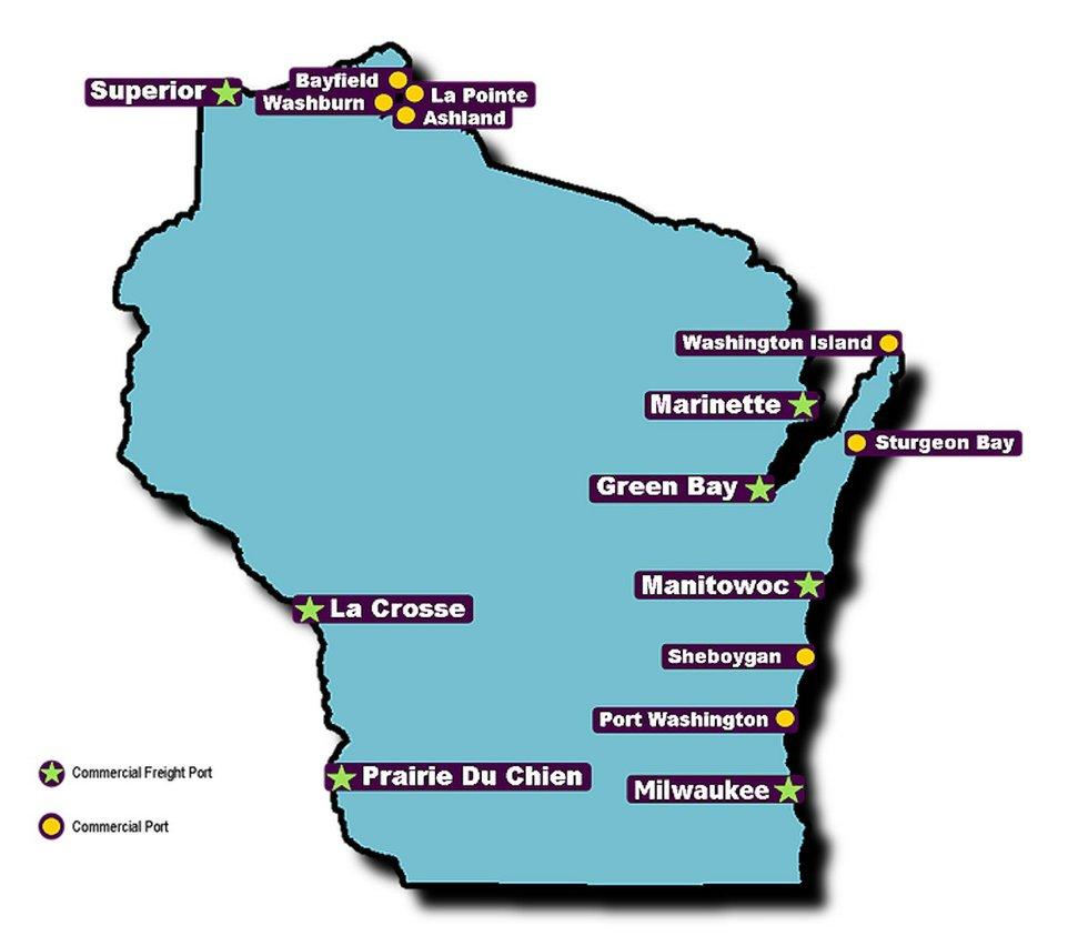 Wisconsin ports