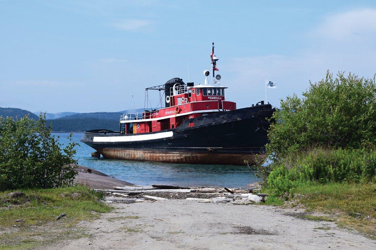 Lake Superior Journal: Peninsula's Final Voyage A Water