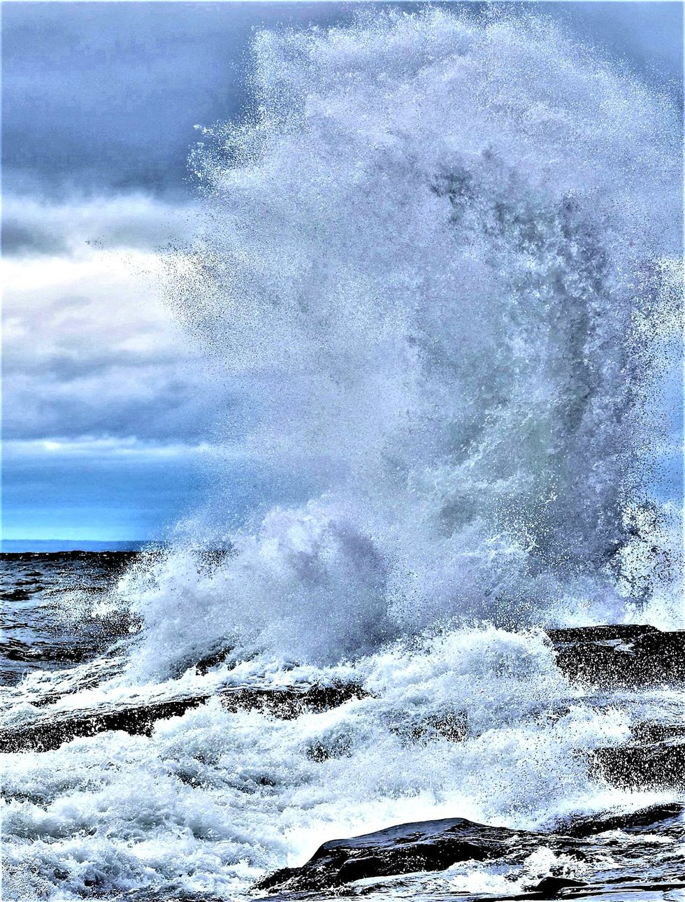 Lake Superior Wave