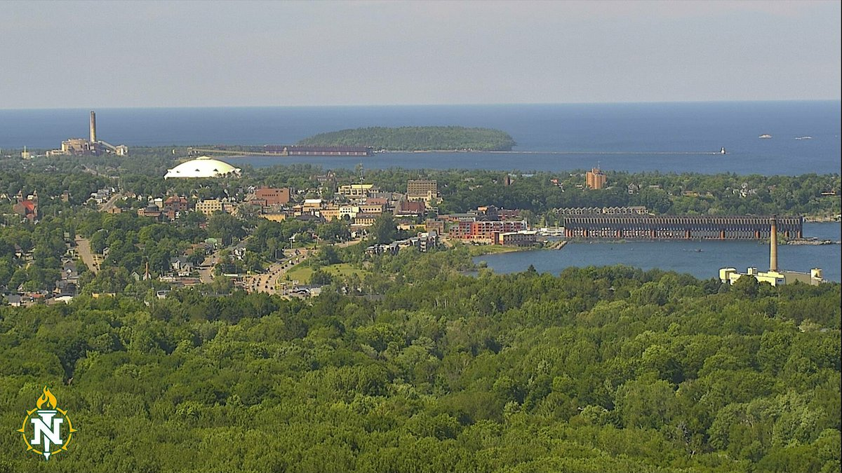 Northern Michigan University webcam from Mt. Mesnard