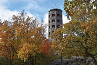 Autumn at Enger Tower